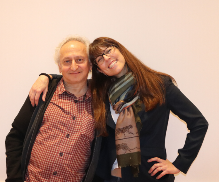 Daniele Gulla e Claudia Vece